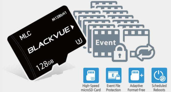 BlackVue Dashcam SD cards