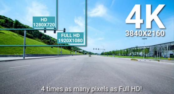 BlackVue Dashcam 4K Full HD Vergleich