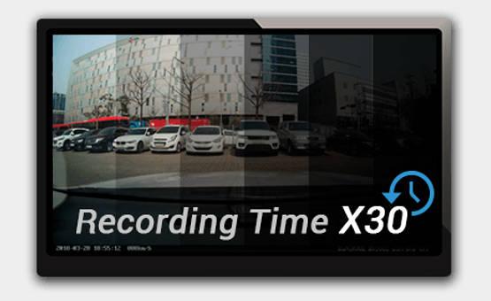 BlackVue parking mode time laps