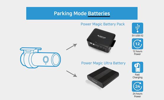 BlackVue Zubehoer Parking Batterien